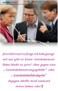 Merkel Maut nein