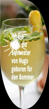 Ingwerdrink auf Hugo-Basis