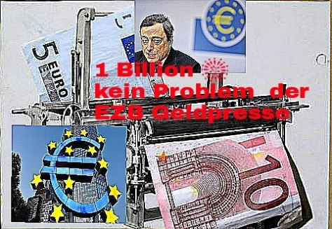 EZB Geldpresse