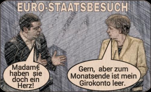 Griechischer Euro-Staatsbesuch
