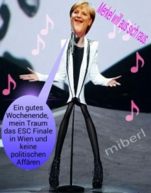 Merkel aus sich raus