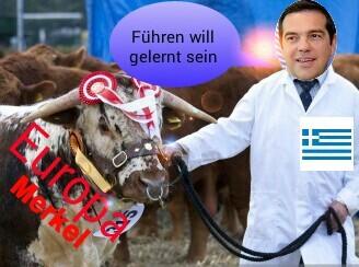 Europa, Merkel am Nasenring