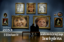 Merkel 2053 EU Old School Museum of Art