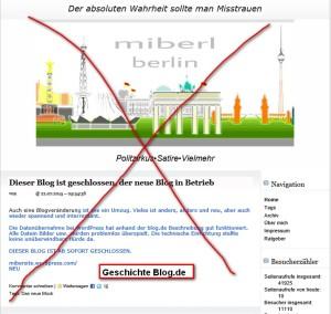 Geschichte Blog.de