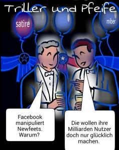 Facebook manipuliert