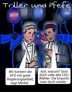 Merkel und AFD