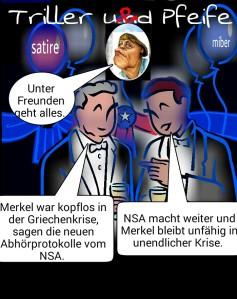 NSA, Merkel in unendlicher Krise