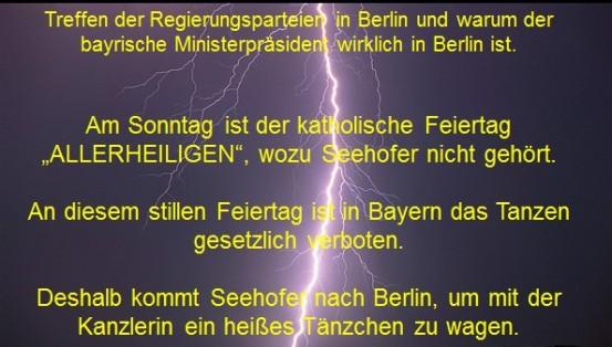 Treffen der Regieerungsparteien in Berlin