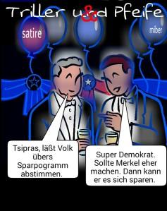 Triller&Peife Abstimmung Sparpaket