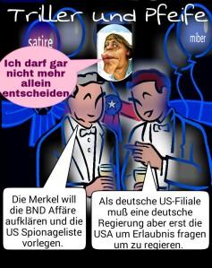Triller&Pfeife, Merkel reagieren ohne zu regieren