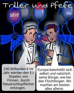 Triller&Pfeife Steuerschlupflöcher