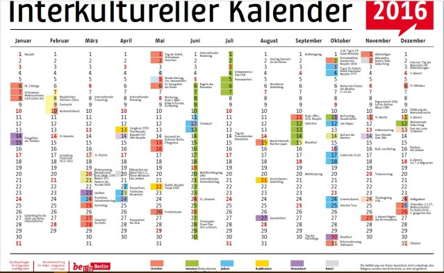 Interkultureller Kalender