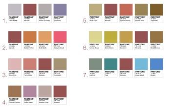 Am Besten kombinierbar mit den Pantone Farben 2016