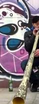 Didgeridoo-Bläser