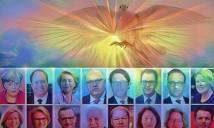 Der Heilige Geist ist ihnen heute zur österlichen Zeit erschienen mit dem eindeutigen Hinweis sie zu erleuchten, weil er bisher einiges vermisst habe.